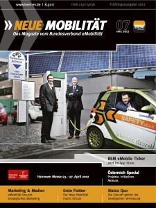 Cover NEUE MOBILITÄT 07