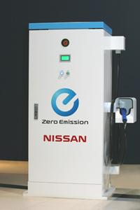 Ladestation Nissan
